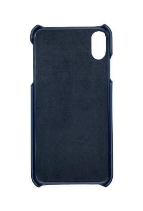 Addison Smart Mobile Phone Deri Kılıf Lacivert Iphonexs Max