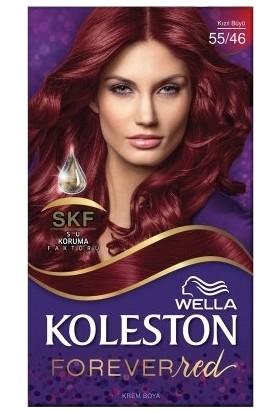 Wella Koleston Kit Boya 55-46 Kızıl Büyü