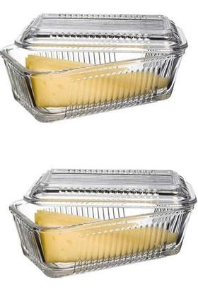 Paşabahçe Frigo Kapaklı Kahvaltılık - Tereyağlık Peynirlik 2'li