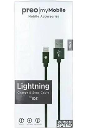 Preo My Mobile MMU04 Lightning Kablo Siyah