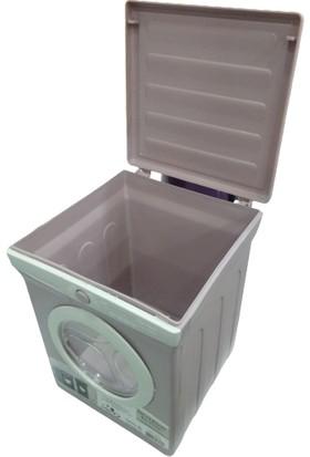 Ak Temizlik Mini Çamaşır Makinesi Görünümlü Deterjan Kutusu