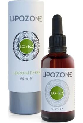 Lipozone Lipozomal Vitamin D3 K2 Damla 60 ml