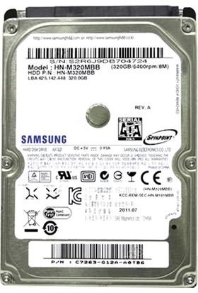 """Samsung HN-M320MBB 320 GB 5400 Rpm 2,5"""" HDD (Yenilenmiş)"""