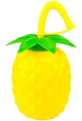 Olux Ananas Pipetli Suluk 900 ml Fosforlu Sarı