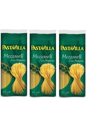 Pastavilla Mezzanelli Makarna 500 gr x 3 (Fırın Makarna)