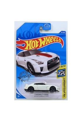 Mattel Hot Wheels Tekli Arabaları 17 Nissan Gt-R (R35) Oyuncakları GHC83