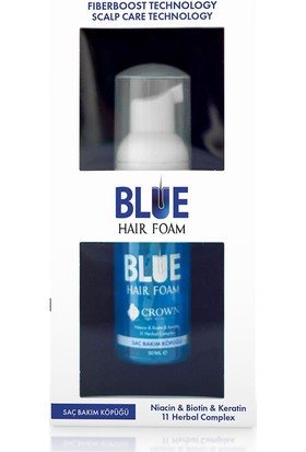 Blue Hair Foam 50 ml – Mavi Saç Köpüğü