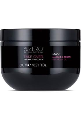 6.zero Take Over Protective Color Mask - Boyalı Saçlar Için Maske 500 ml