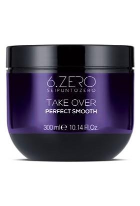 6.zero Take Over Perfect Smooth Mask - Asi ve Kabarık Saçlar Için Maske 300 ml