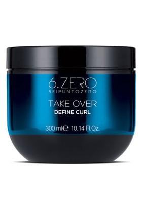 6.zero Take Over Define Curl Mask - Dalgalı ve Kıvırcık Saçlar Için Maske 300 ml