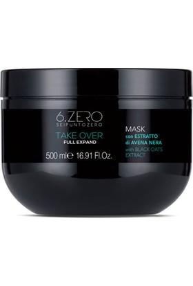 6.zero Take Over Full Expand Mask - Ince Telli ve Zayıf Saçlar Için Maske 500 ml