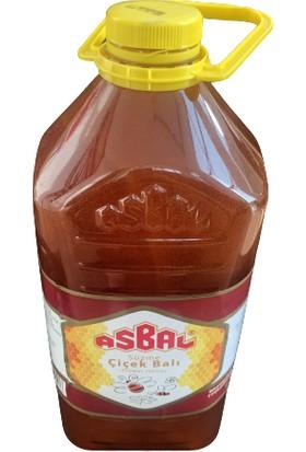 Asbal Bidon Süzme Çiçek Balı 3 kg