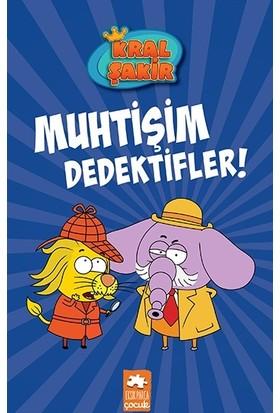 Kral Şakir 9 - Muhtişim Dedektifler (Ciltli) - Varol Yaşaroğlu