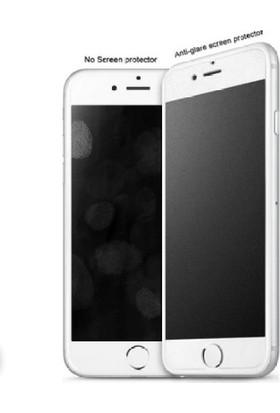 Ag iPhone 8 White Özel Seramik Kırılmaz Ful Ekran Cam