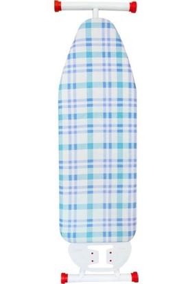 Decobella Çizgi Desenli Keçeli Ütü Masası Kılıfı 140*50 Mavi