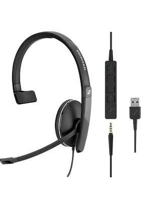 Sennheiser Sc 135 USB Ctrl Tek Taraflı USB Kablolu Uc Kulaklığı