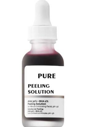 Pure Peeling Solüsyon 10 Dakikada Peeling