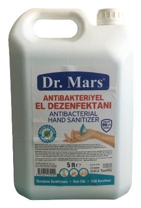 Dr. Mars 5 lt 5 Adet Aloe Veralı Antibakteriyel Alkollü El Dezenfektanı