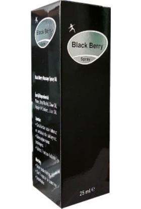 Black Berry Massage Sprey Oil 25 ml