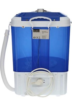 Mestic Portatif Otomatik Yıkama Kamp Çamaşır Makinası
