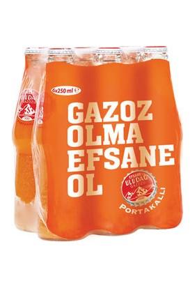 Efsane Uludağ Gazoz Portakallı 6 x 250 ml