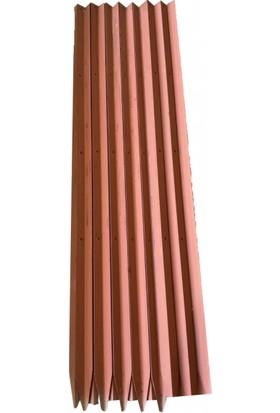 Bahçe Çit Köşebendi (Delikli Köşebent) 40X40X3 mm - 150 cm (4 Delikli)