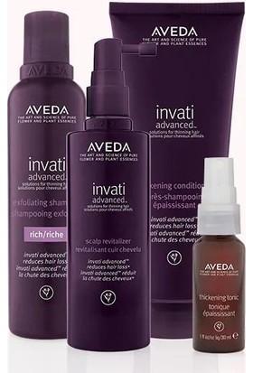 Aveda Invati Advanced Saç Dökülmesine Karşı Set Zengin Doku