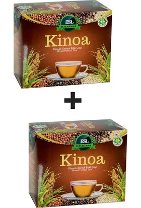 Esl Bitkisel Kinoa Çayı (2 Adet)