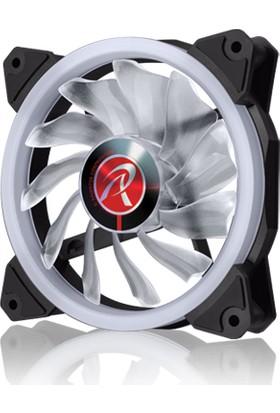 Raijintek IRIS 12 RBW ADD-3 3 Adet Adreslenebilir ARGB LED Fan + 8 Port Fan Çoklayıcı + Uzaktan Kumandalı Kasa Fanı Seti (RJ 0R40B00112)