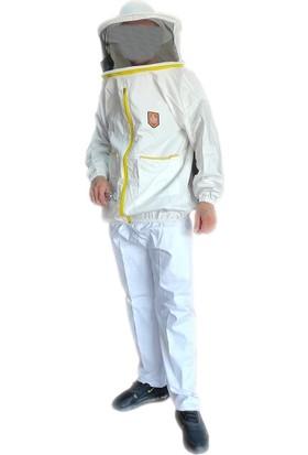 Öz Mersin Petek Maske + Pantolon Uzaylı Tipi Takım