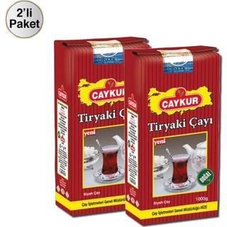 Çaykur Tiryaki 1000 gr Dökme Çay x 2