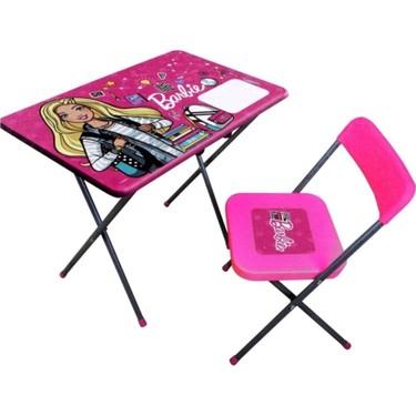 Vardem Barbie Çocuk Oyuncak Ders Çalışma Masası ve Fiyatı