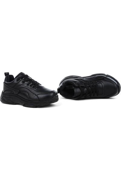 Zigana Siyah Yüksek Taban Sneaker