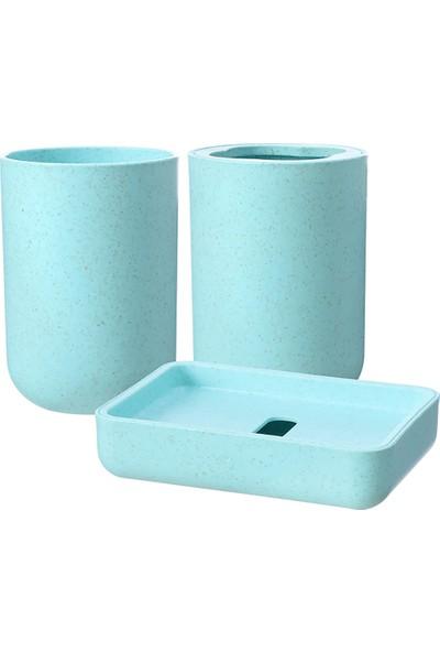 Miniso 3'lü Banyo Seti