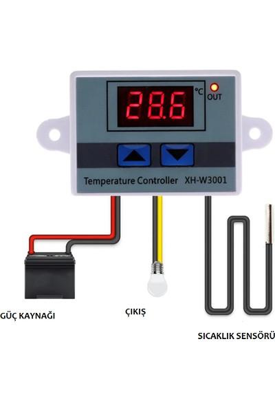 Joytech XH-W3001 220V Ac Dijital Termostat Akvaryum Kuluçka Makinesi