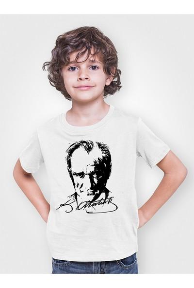 Du Mustafa Kemal Atatürk Erkek Çocuk Tişört
