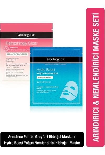 Neutrogena Hydro Boost Yoğun Nemlendirici + Refrehsingly Clear Arındırıcı Hidrojel Maske