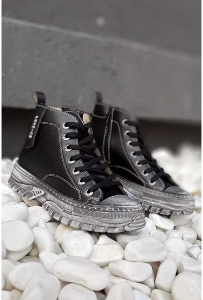 Modafrato DIVA102 Uzun Kadın Spor Ayakkabı Sneakers