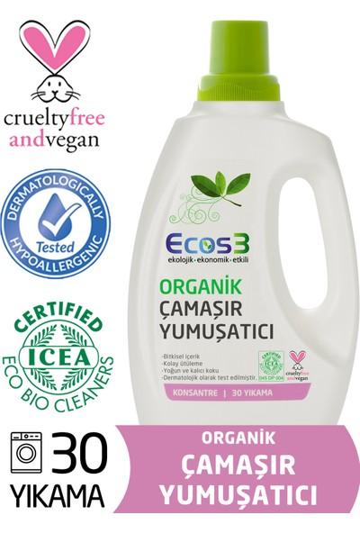 Ecos3 Organik Konsantre Çamaşır Yumuşatıcı (30 Yıkama)