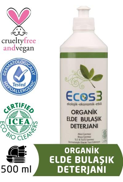 Ecos3 Organik Elde Bulaşık Deterjanı (500 Ml)