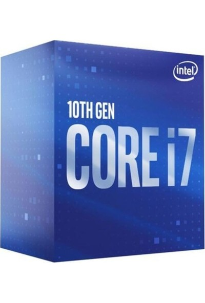 Intel Core i7 10700F 2.9GHz LGA1200 16MB Cache İşlemci