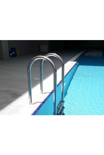 Muro Tip 2 Basamaklı Aısı 304 Paslanmaz Çelik Havuz Merdiveni