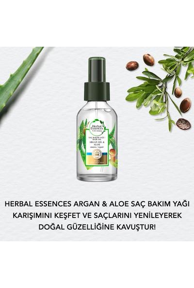 Herbal Essences Argan Yağlı Onarıcı Sprey Yağ 100 ml