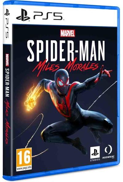 Spiderman Miles Morales PS5 Oyun