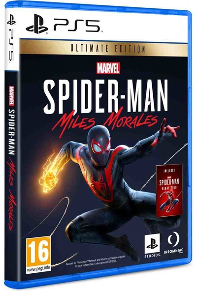 Spiderman Ultimate Edition PS5 Oyun