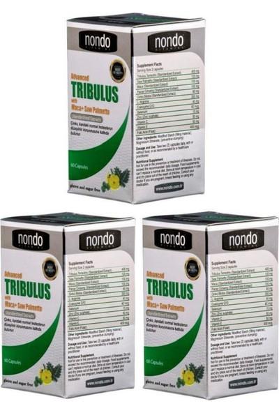Nondo Trıbulus 60 Kapsül 3 Adet