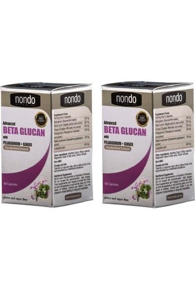 Nondo Beta Glucan 60 Kapsül 2 Adet