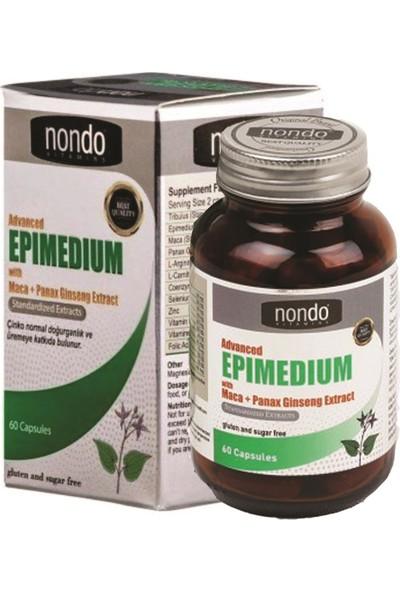 Advanced Epi Medium With Maca Panax Ginseng Extract 60 Kapsül