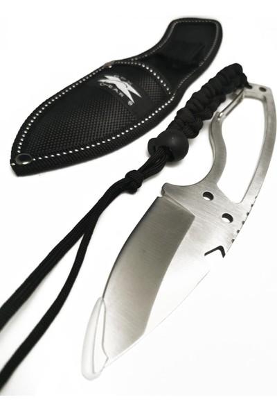 Dpx Gear 20 cm Gümüş Ipli Çelik Av Kamp Çakısı