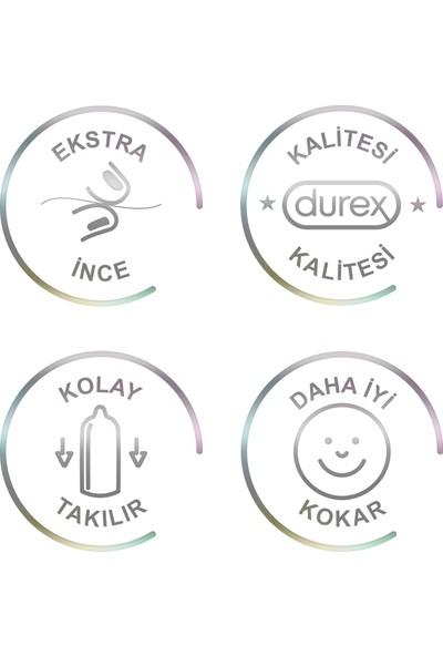 Durex Zevk Paketi (Yok Ötesi Ult Kaygan 20li + Yakın Hisset 20li + Intense 20li)